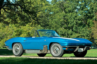 Harley Earl's Custom Corvette Heads to Auction