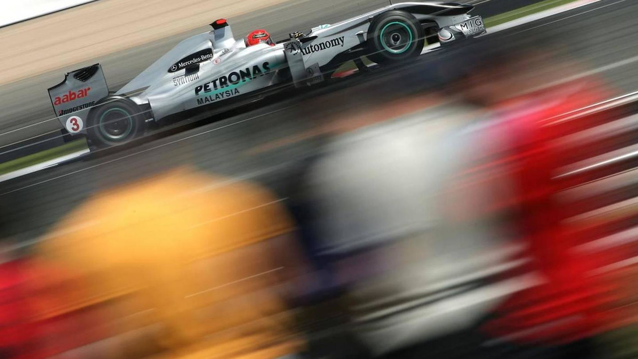 Michael Schumacher (GER), Mercedes GP, British Grand Prix, 09.07.2010 Silverstone, England
