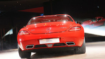 Mercedes SLS AMG with Electric Drive Concept