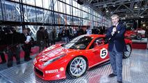 Ferrari 458 Challenge public debut at Bologna Motor Show 2010 [videos]