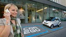 Smart car2go Mobile Rental Service Testing in Germany
