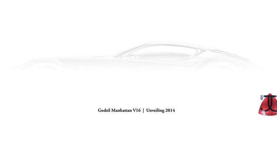 US-developed 2014 Godsil Manhattan teased, will have a V16 compressed natural gas engine