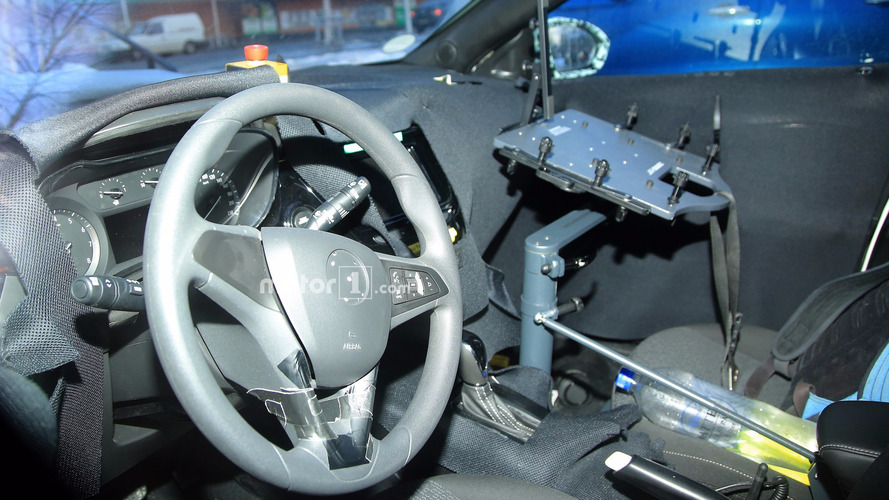 Opel Corsa Spy Photos
