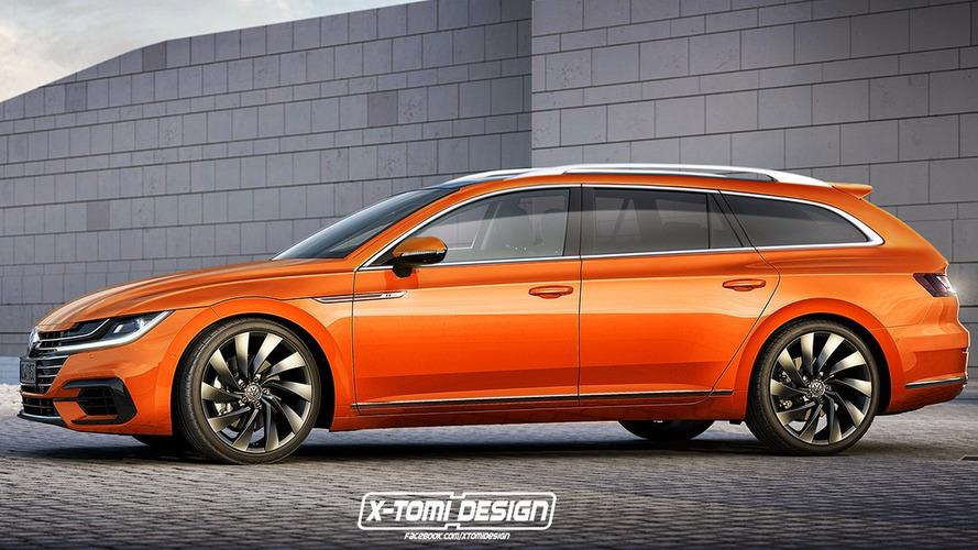 Projeção - VW Arteon wagon deveria (e poderá) existir