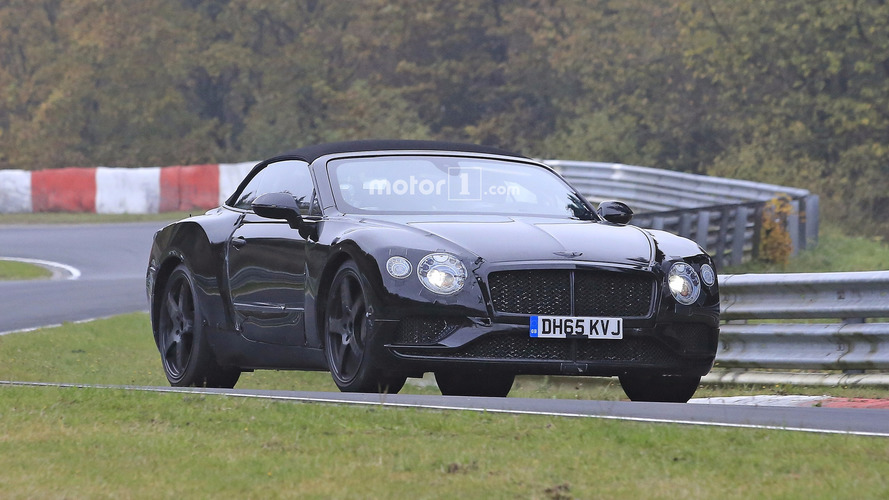 2018 Bentley Continental GT and GTC spy photos