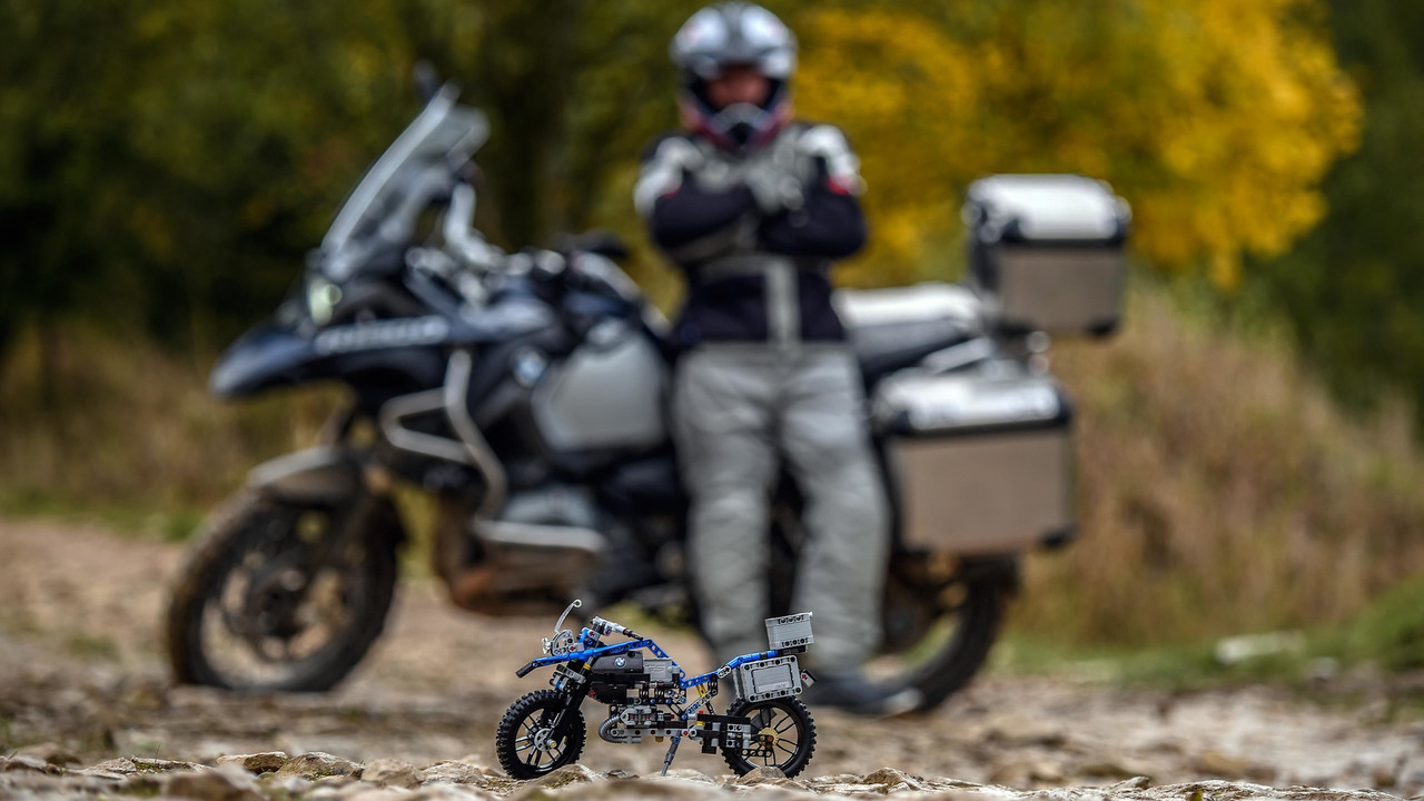 BMW R 1200 GS Lego Technic