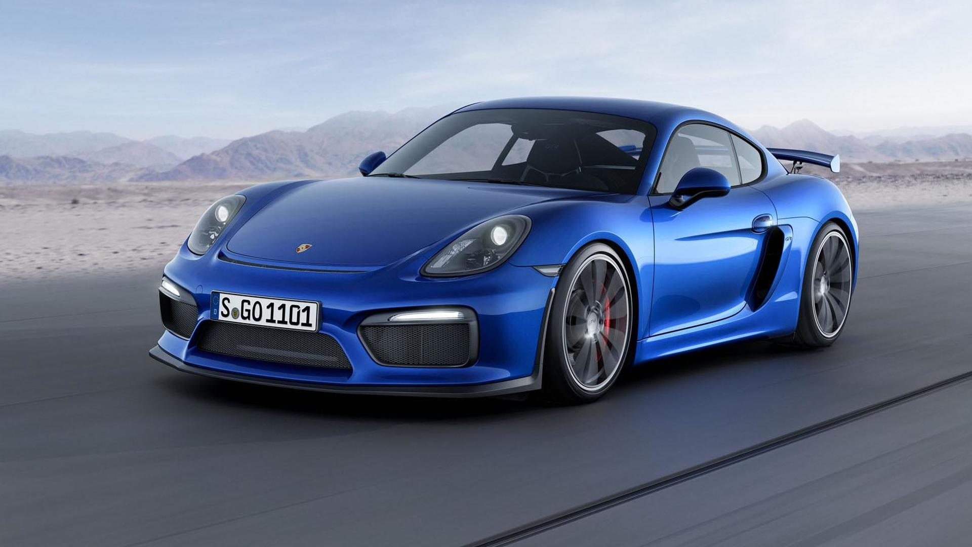 Porsche considering more powerful and lighter Cayman GT4 RS