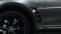 Infiniti QX70 S Design previewed ahead of Paris Motor Show premiere
