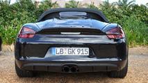 Porsche Boxster Spyder allegedly getting 375 HP
