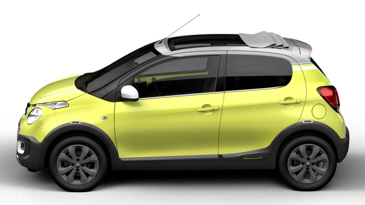 Citroen C1 Urban Ride concept