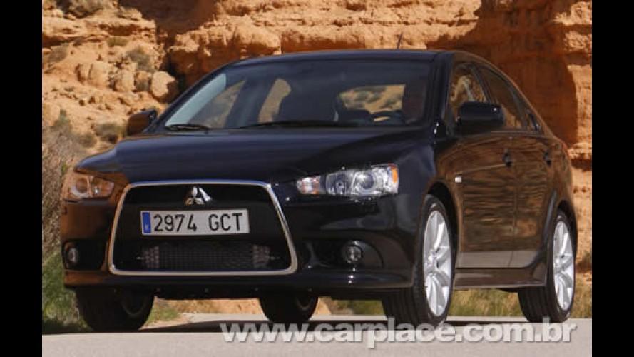 Mitsubishi Lancer - Versão hatch do esportivo japonês será vendido nos EUA