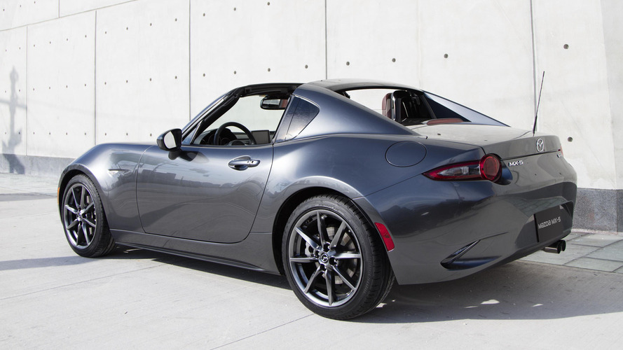 Mazda MX-5 Miata RF starts at $31,555, Launch Edition preorders open