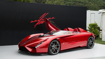 Ken Okuyama debuts 600-hp Kode57 Enji supercar at the Quail