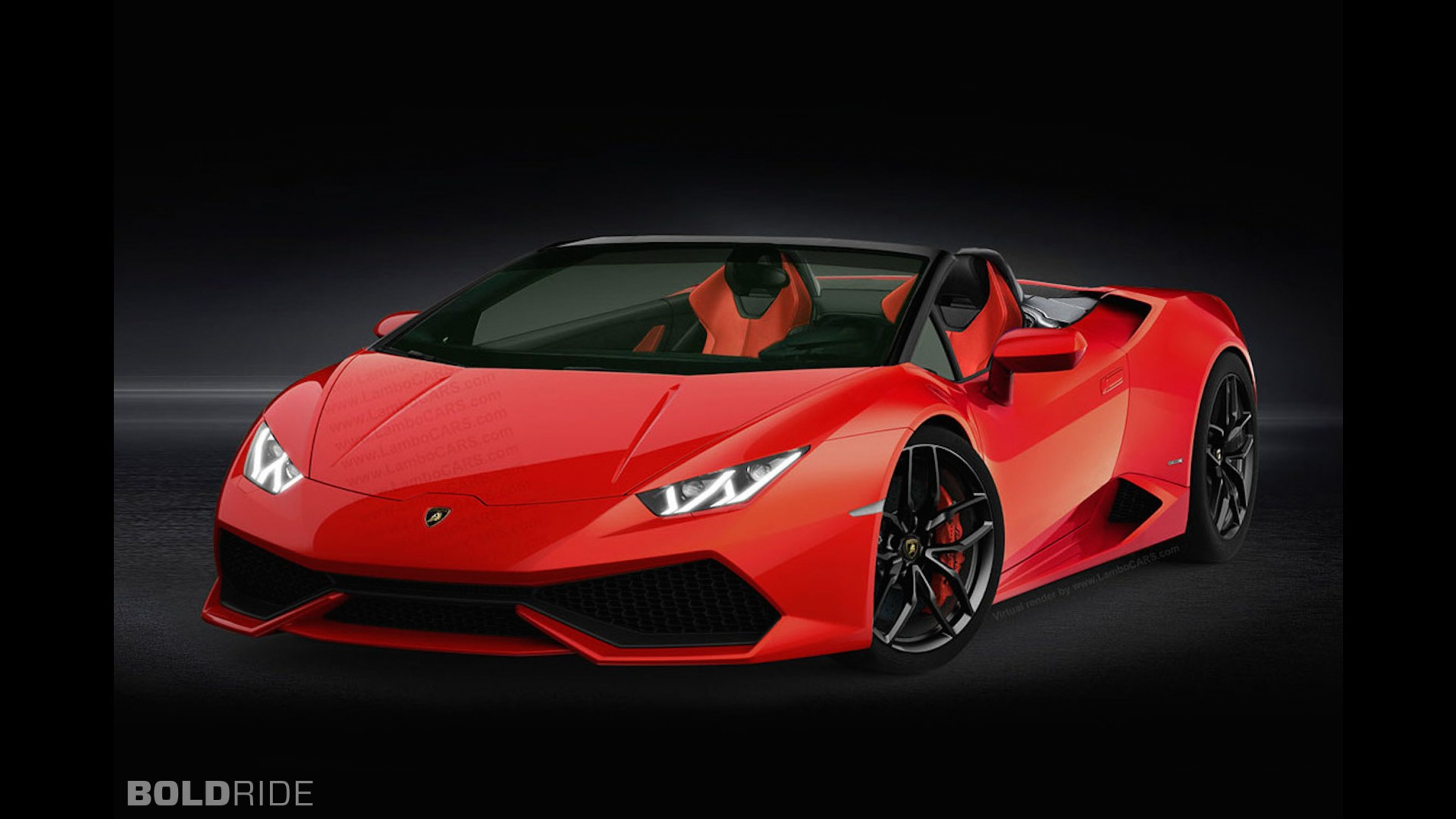 lamborghini huracan spyder concept by lambocars. Black Bedroom Furniture Sets. Home Design Ideas