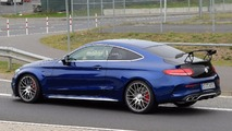 Mercedes-AMG C63 R Coupe Spy Pics