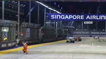 FIA seeks answers over 'very dangerous' marshal near-miss