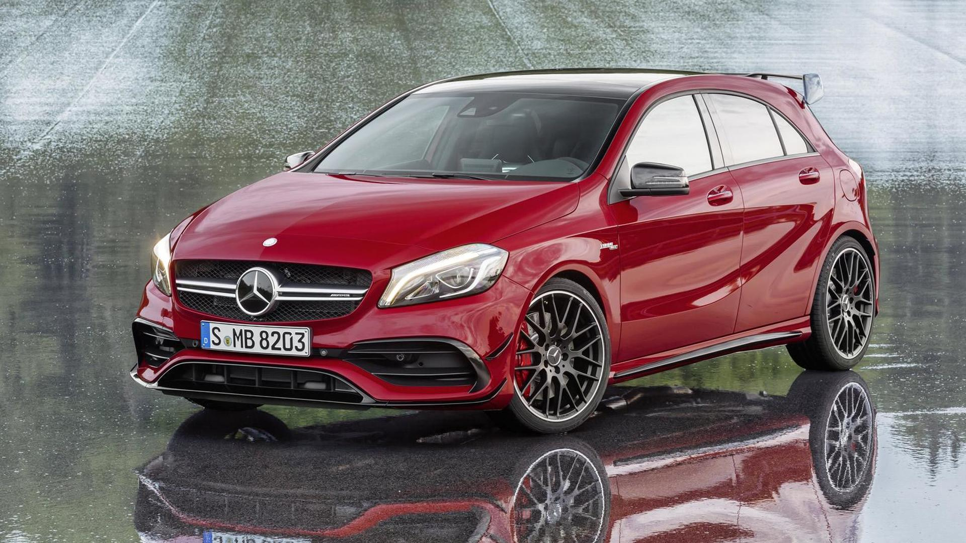 Next-gen Mercedes-AMG A45 to get power boost to over 400 hp