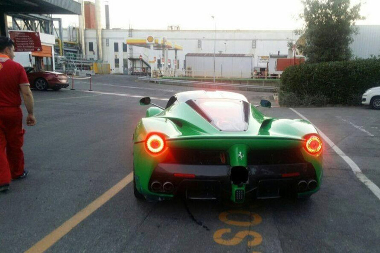 Jay Kay's Ferrari LaFerrari is Certainly the Greenest
