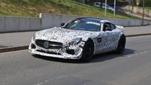 Hardcore Mercedes-AMG GT spied testing on Nurburgring