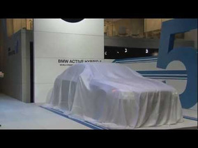 2012 BMW 5-Series ActiveHybrid Tokyo Motor Show 2011