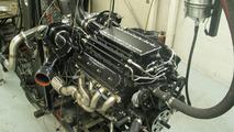 Mosler 7.0-liter twin-turbo LS7 engine on dyno