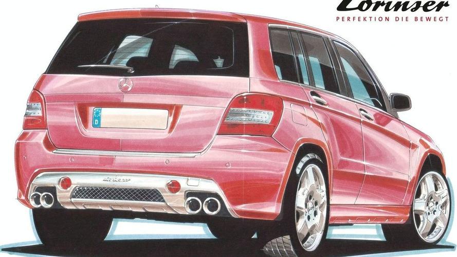 Lorinser Shows Mercedes GLK Design Study Sketches