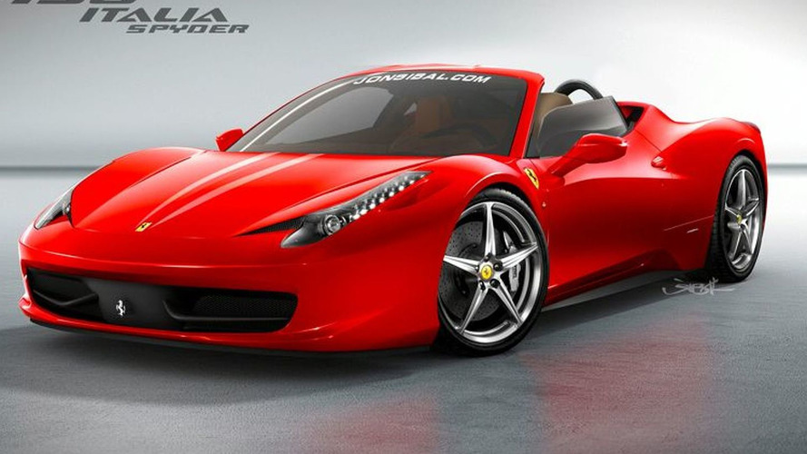 Ferrari 458 Italia to get folding hardtop roof?