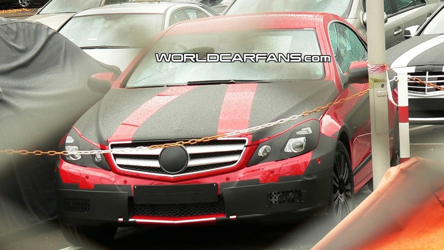 Mercedes E Class Coupe Interior Spied