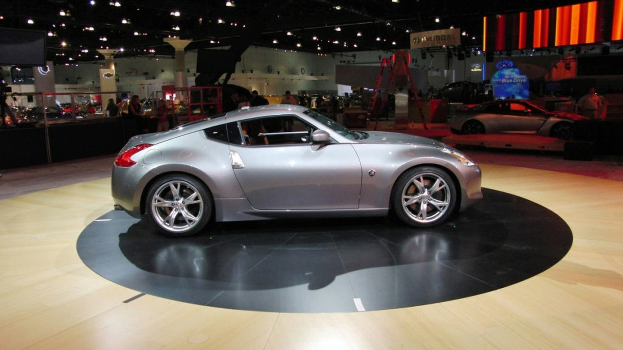Nissan 370Z at Los Angeles Auto Show 2008