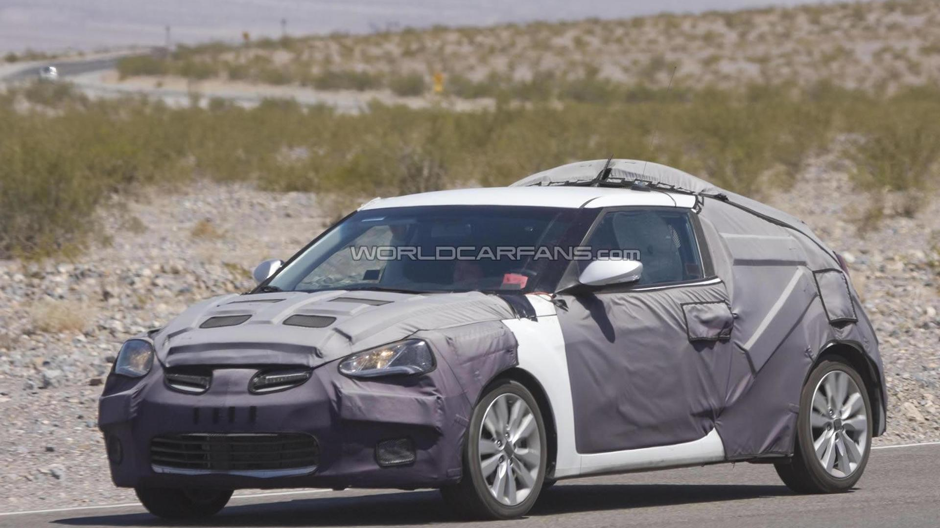 Hyundai Veloster headed to Detroit, Accent to New York show