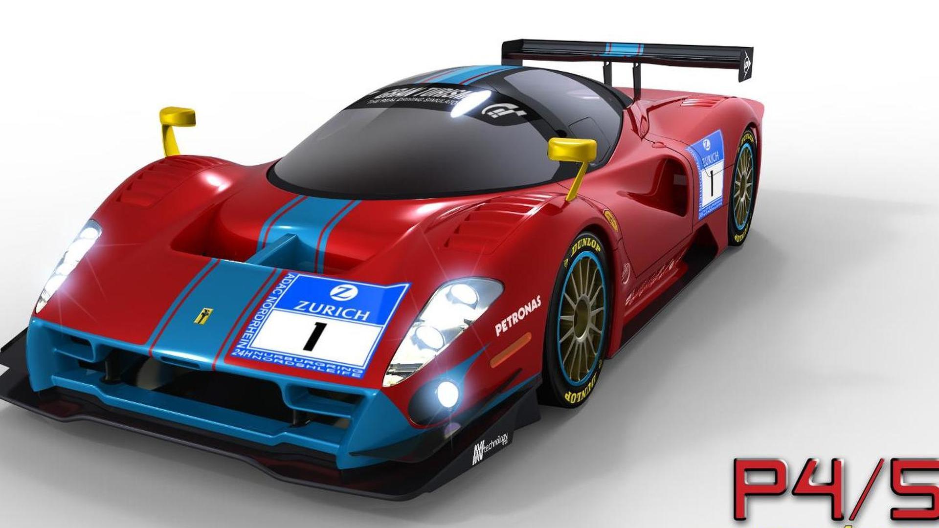 Ferrari P4/5 Competizione - first official rendering released