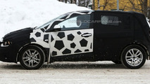 Chevrolet Aveo prototype spy photos