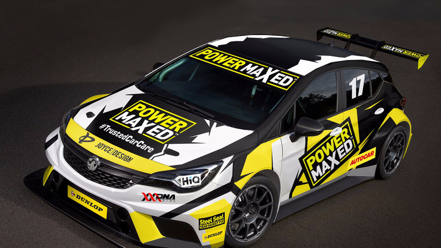 Vauxhall returns to BTCC with Power Maxed Racing