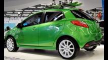 Mazda mostra os modelos que virão ao Brasil no México