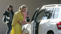 Mercedes GLK Undisguised on the Set of 'Sex and the City'