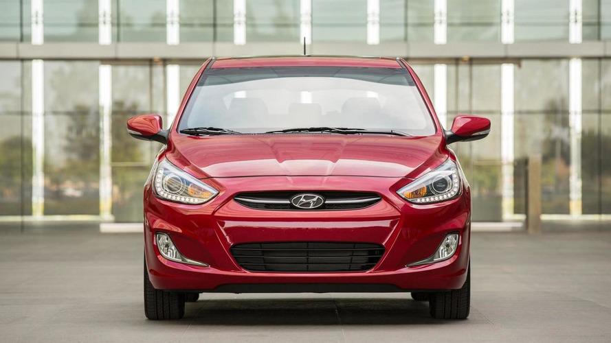 Hyundai Accent facelift revealed with subtle updates