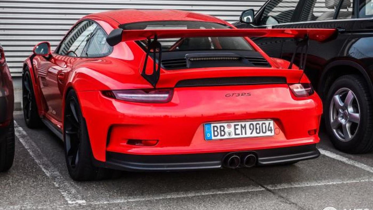 Porsche 911 GT3 RS Lava Orange