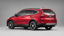 Facelifted Honda CR-V Euro-spec on sale spring 2015, new pics released