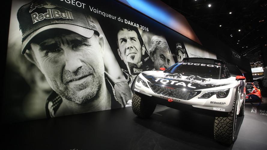 Peugeot 3008 DKR dispenses with the pleasantries in Paris