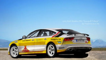 Audi Quattro RS7 Group B Tribute rendered