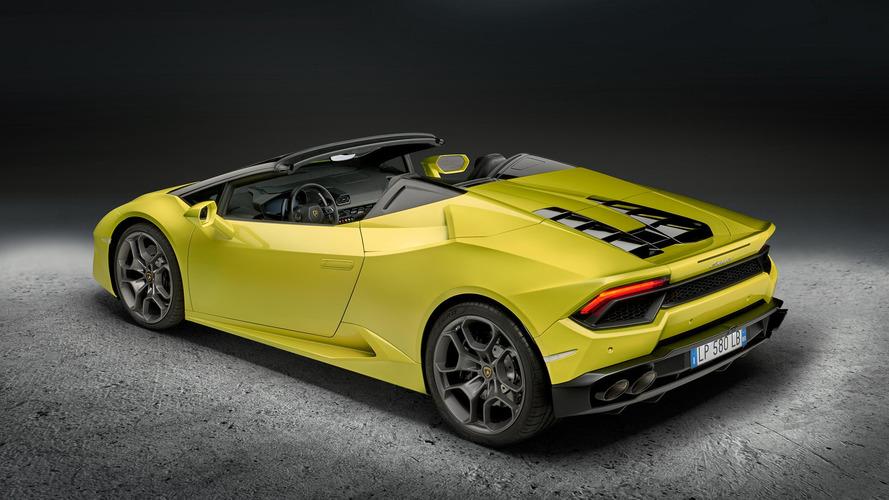 2017 Lamborghini Huracan LP 580-2 Spyder