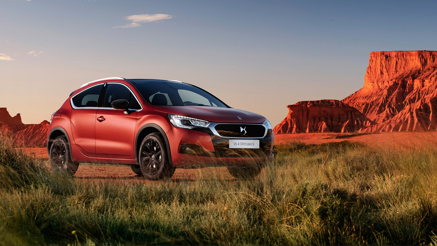 Special matte orange DS 4 Crossback limited to just 17 models