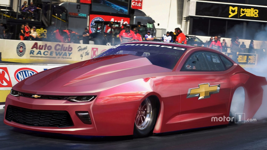 New Pro Stock Chevrolet Camaro SS ready to tear up the drag strip