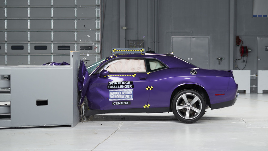 IIHS crash tests show muscle cars' safety issues