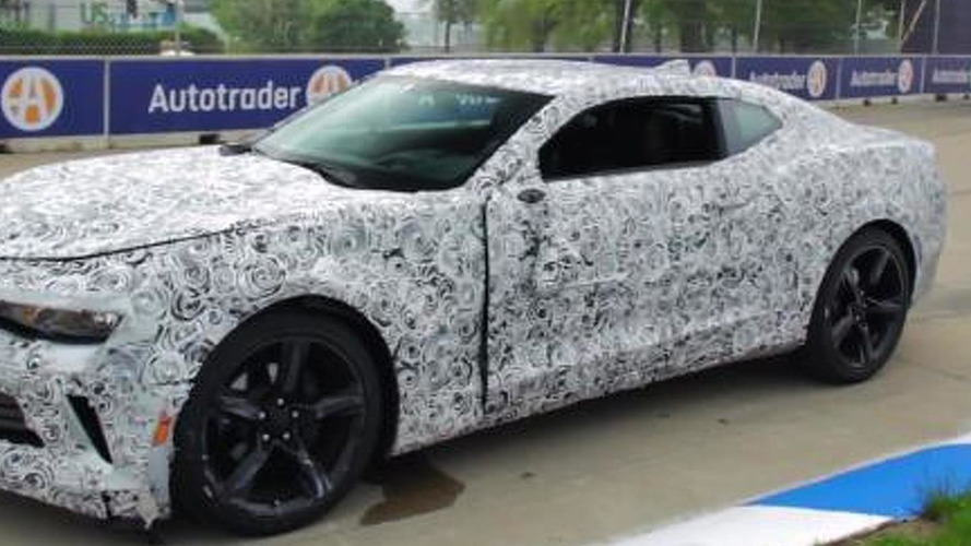 Journalist crashes new Chevy Camaro, GM asks him to leave [video]