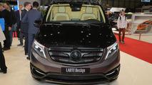 Mercedes V Class Black Crystal by Larte Design