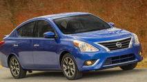 2016 Nissan Versa Sedan unveiled with additional standard equipment