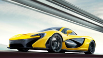 2013 McLaren P1 production version