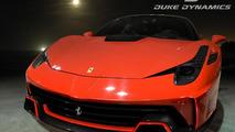 Duke Dynamics previews their Ferrari 458 Velocita