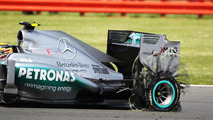 2013 Formula 1 season in tyre-exploding crisis after Silverstone